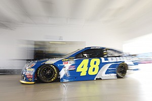NASCAR Sprint Cup Practice report Jimmie Johnson tops Saturday morning Cup practice