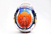 Formula 1 Photos - Helmet of Max Verstappen, Red Bull Racing