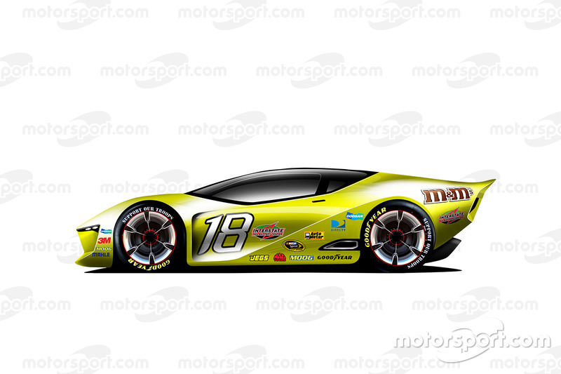 fantasy nascar design of the future - Sports Cars 2030