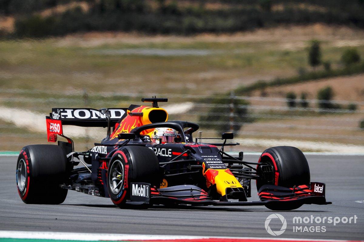 P3 Max Verstappen, Red Bull Racing RB16B