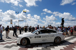 Marco Wittmann, BMW Team RMG, BMW M4 DTM with the BMW M4 GTS DTM Safety Car.