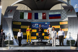Pierre Gasly, PREMA Racing, Antonio Giovinazzi, PREMA Racing and Sergey Sirotkin, ART Grand Prix
