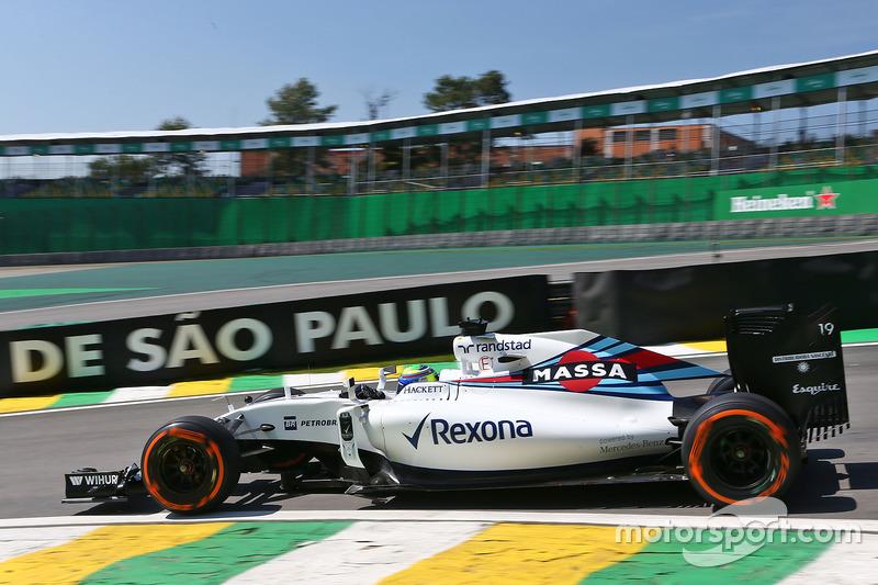 13: Felipe Massa, Williams FW38