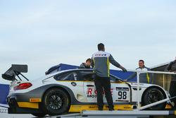 #98 Rowe Racing BMW M6: Stef Dusseldorp, Jesse Krohn