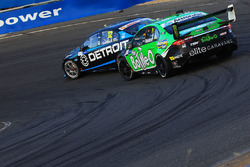 Fabian Coulthard, Team Penske Ford and Mark Winterbottom, Prodrive Racing Australia Ford