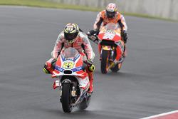 Andrea Iannone, Ducati Team and Dani Pedrosa, Repsol Honda Team