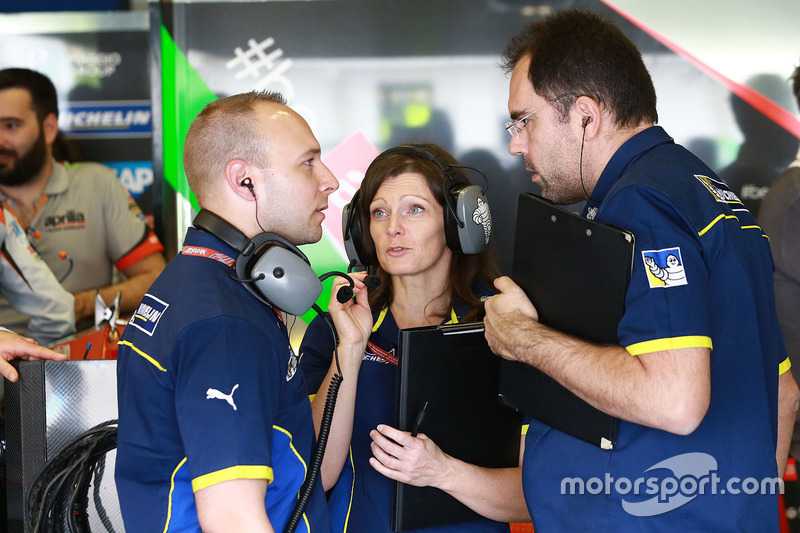 Michelin tyre technicians