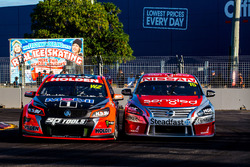 Garth Tander, Holden Racing Team and Rick Kelly, Nissan Motorsports