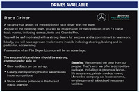 F1 写真 - Mercedes AMG F1 driver advert
