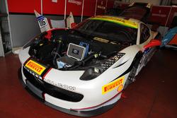 #116 Rossocorsa Ferrari 458: Jean-Claude Saada