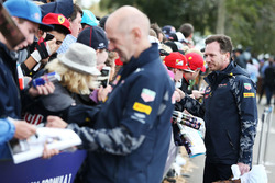 Adrian Newey, Red Bull Racing Chief Technical Officer and Christian Horner, Red Bull Racing Team Principal
