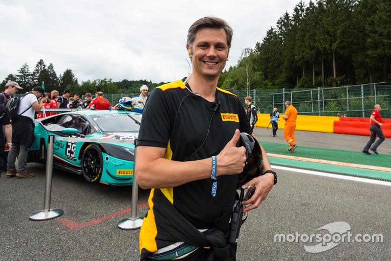倍耐力全球赛车活动经理马蒂奥·布拉加