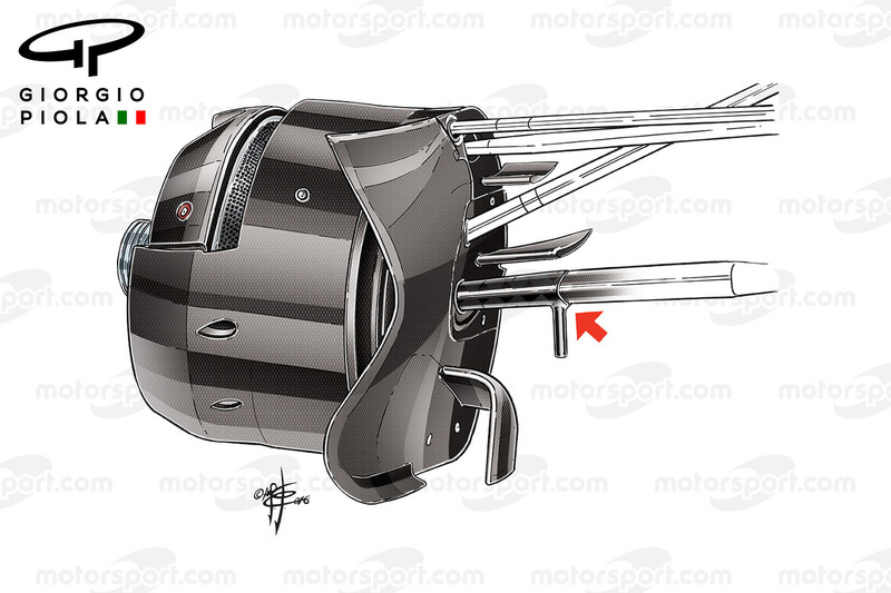 Toro Rosso STR11 brake duct, Monaco GP