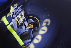 Mechanix Wear gloves and Goodyear tire