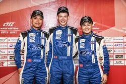 2.0T Class qualifying TOP3- Andy Yan,Dan Wells,Rainey He-ChangAn Ford Team