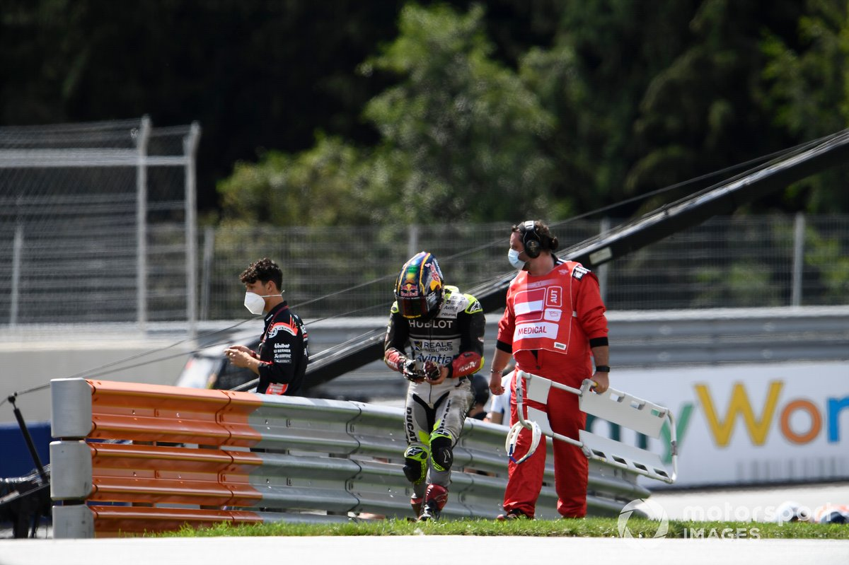 GP de Styrie - Jacques Bolle soutient Zarco après le crash de Spielberg