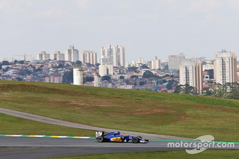21: Felipe Nasr, Sauber C35