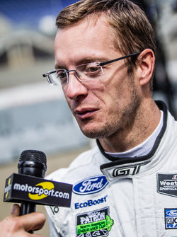 #68 Ford Chip Ganassi Racing Ford GT: Sébastien Bourdais interviewed by Alexander Wurz for Motorsport.com