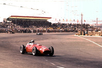 Formula 1 Fotoğraflar - Phil Hill, Ferrari Dino 246