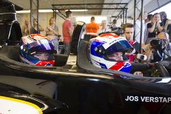 Jos Verstappen, Victoria Verstappen, F1 two-seater