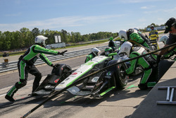 Conor Daly, Dale Coyne Racing Honda pit action