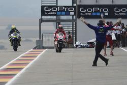 Andrea Dovizioso, Ducati Team and Valentino Rossi, Yamaha Factory Racing bike swap
