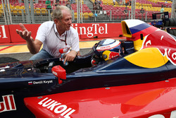 Dr. Helmut Marco, Red Bull Racing with Carlos Sainz Jr.