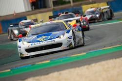 #51 AF Corse Ferrari F458 GT3: Mario Cordoni, Andrea Montermini