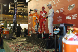Scott Dixon, Chip Ganassi Racing Chevrolet, Simon Pagenaud, Team Penske Chevrolet, Will Power, Team Penske Chevrolet
