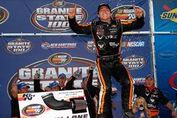 Race winner Jesse Little