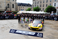 #50 Larbre Competition Chevrolet Corvette C7-R: Yutaka Yamagishi, Pierre Ragues, Jean-Philippe Belloc