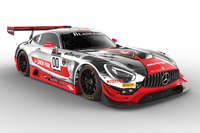 Blancpain Endurance Photos - #00 AMG-Team Black Falcon, Mercedes AMG-GT3: Yelmer Buurman, Maro Engel, Bernd Schneider
