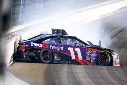 Denny Hamlin, Joe Gibbs Racing Toyota crash