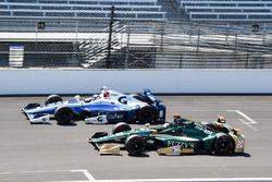 Max Chilton, Chip Ganassi Racing Chevrolet, Ed Carpenter, Ed Carpenter Racing Chevrolet