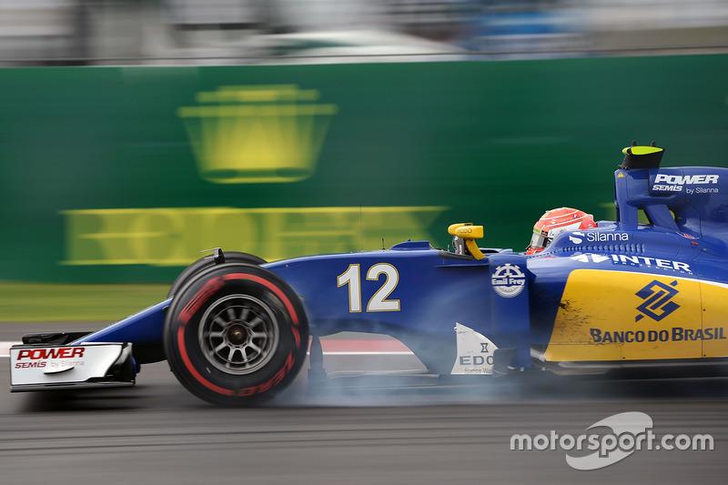 19: Felipe Nasr, Sauber C35