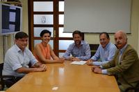 Speciale Foto - Walter Sciacca con Carlos Alonso e Cristo Pérez del Cabildo de Tenerife