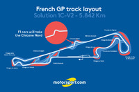 Formula 1 Photos - French GP track layout