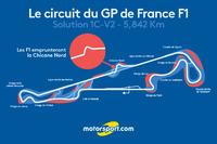 Formule 1 Photos - Le circuit du GP de France F1, zoom sur la Chicane Nord