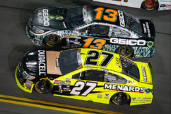 Paul Menard, Richard Childress Racing Chevrolet, Casey Mears, Germain Racing Chevrolet