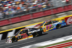 Ricky Stenhouse Jr., Roush Fenway Racing Ford, Ryan Newman, Richard Childress Racing Chevrolet