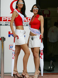 Lovely Pramac Racing girls