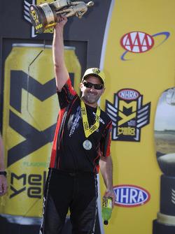 Pro Stock Bike winner Eddie Krawiec