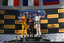 Pierre Gasly, PREMA Racing Antonio Giovinazzi, PREMA Racing and Sergey Sirotkin, ART Grand Prix