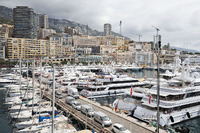 Formula 1 Photos - Boats in the scenic Monaco Harbour