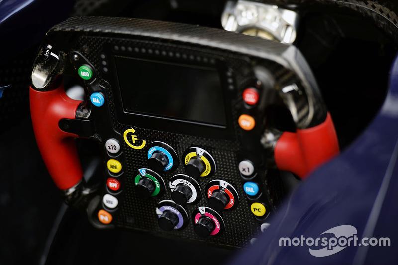 Scuderia Toro Rosso STR11 steering wheel