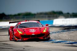 #62 Risi Competizione Ferrari F488: Davide Rigon, Toni Vilander, Giancarlo Fisichella