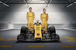 Kevin Magnussen, Renault Sport F1 Team and Jolyon Palmer, Renault Sport F1 Team