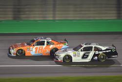 Matt Tifft, Joe Gibbs Racing Toyota, Darrell Wallace Jr., Roush Fenway Racing Ford