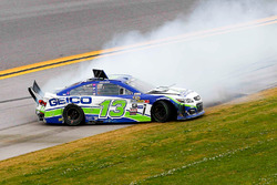 Casey Mears, Germain Racing Chevrolet crash