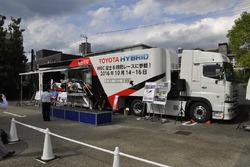 トヨタWEC「キャラバントレーラー」